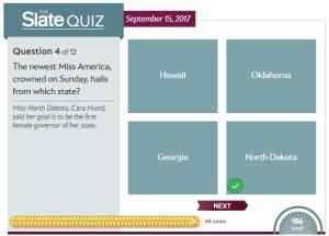 Slate News Quiz
