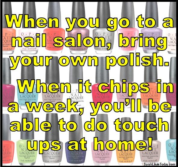 Nail Polish Hack 1